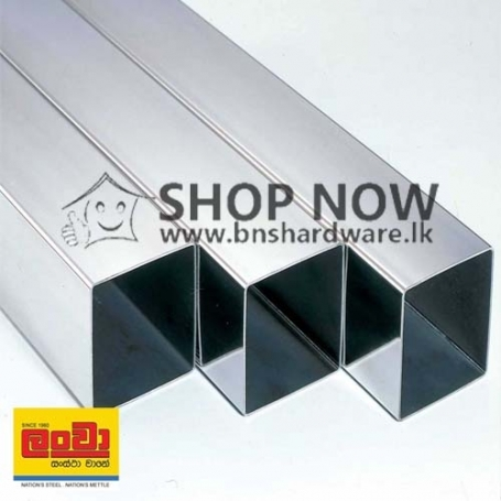 Lanwa GI - Square Tube 1in x 1in (25MM x 25MM)