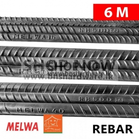 Melwa Steel QT Bars 6M
