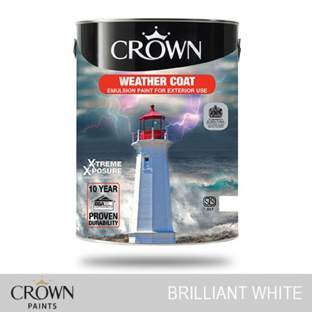 Crown Weathercoat Extreme Expose Brilliant White
