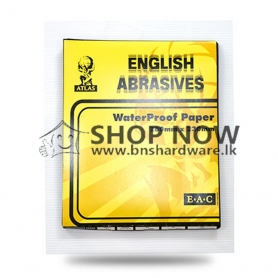 ATLAS ENGLISH ABRASIVES WATER PROOF PAPER