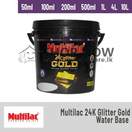 Multilac 24K Glitter Gold ( Water Base )