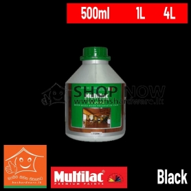ITAL WOOD EXTERIOR WATER BASED WOOD PRESERVATIVE STAIN - BLACK