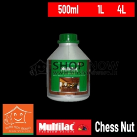 ITAL WOOD EXTERIOR WATER BASED WOOD PRESERVATIVE STAIN - Chess Nut