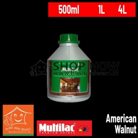 ITAL WOOD EXTERIOR WATER BASED WOOD PRESERVATIVE STAIN - American Walnut