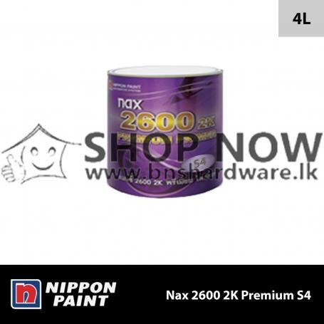 Nax 2600 2K Premium Primer S4 Grey - 4L