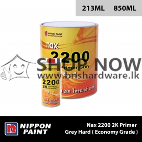 Nax 2200 2K Primer Grey Hard ( Economy Grade )