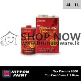 Nax Premila 9800 Top Coat Clear 2:1 Base