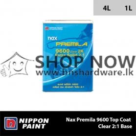 Nax Premila 9600 Top Coat Clear 2:1 Base