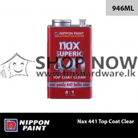 Nax 441 Top Coat Clear