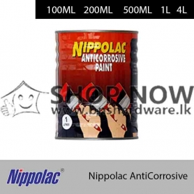 Nippolac AntiCorrosive (Red/Grey/Brown/Bamboo/Sylvan Green/Spice/Steel Grey/White/Black/Aluminium/