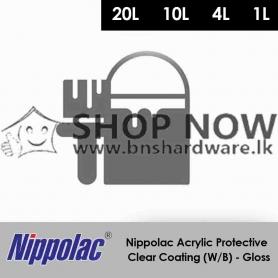 Nippolac Acrylic Protective Clear Coating (W/B) - Gloss