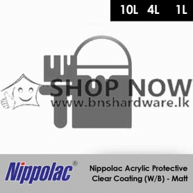Nippolac Acrylic Protective Clear Coating (W/B) - Matt