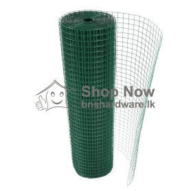 "PVC Coated Welded Mesh G-18 - 1"" x 1"""