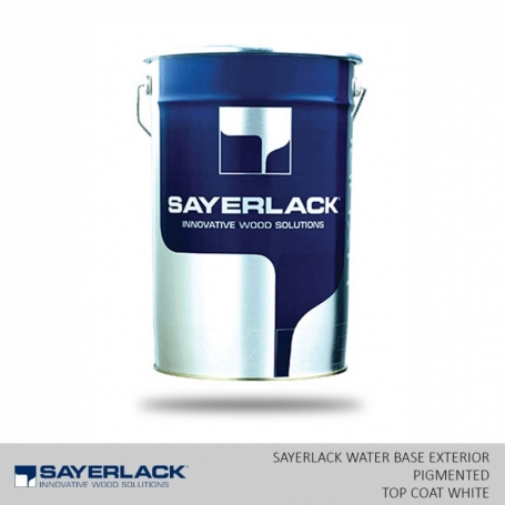 Water Base Exterior Pigmented Top Coat White