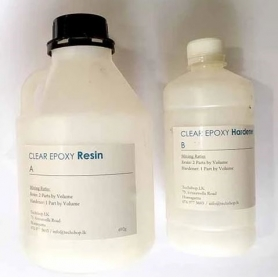 Clear Epoxy Glue (Hardness+Resin) 1kg