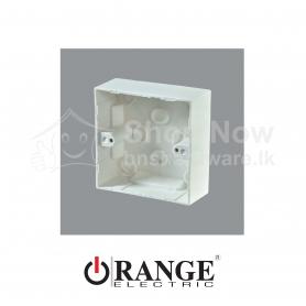 X5 Single Gang Mounting Box-Surface