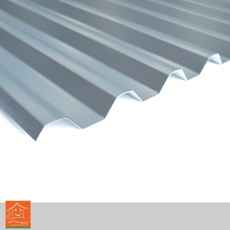 Aluminium Corrugated Roofing Sheets 1inear FT(1'x2.5')