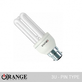 Orange CFL 3U Pin Type