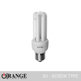 Orange CFL 3U Screw Type