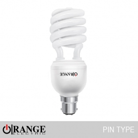 Orange CFL Spiral Pin Type