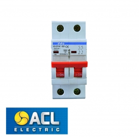 ACL - ACLE ISOLATOR 40A DOUBLE POLE