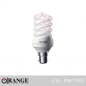 Orange CFL Full Spiral Pin Type
