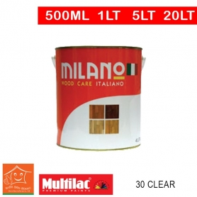 Milano Pu Top Coat Lacquer 30 Clear