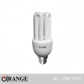 Orange CFL High Voltage 4 U Pin Type 64W D/L
