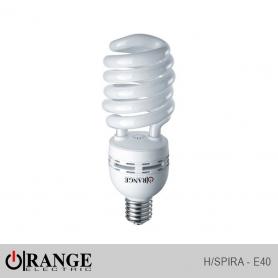 Orange CFL H/Spiral E40