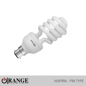 Orange CFL H/Spiral Pin Type W/W
