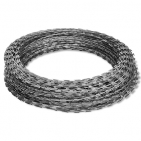 CONCERTINA BARBED WIRE (CAMP WIRE)
