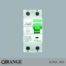 Orange RCD Alpha 2 Pola 40A 30mA - GY