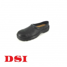 DSI Half Shoes - With metal toe cap (Black)