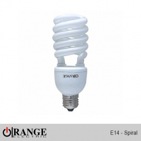 Wireman Orange CFL E14 Spiral Type