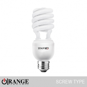 Wireman Orange CFL Screw Type Spiral
