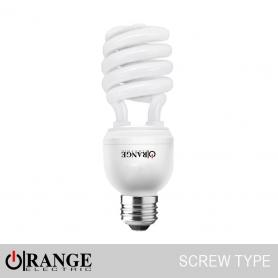 Wireman Orange CFL Screw Type Spiral