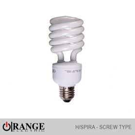 Wireman Orange H/Spira CFL Screw Type