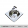 15 x 15 In x 0.6mm (Bowl Only) (Lay On)