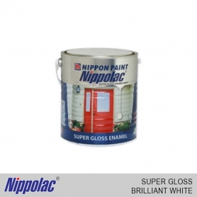 Nippolac Enamel Super Gloss Brilliant White