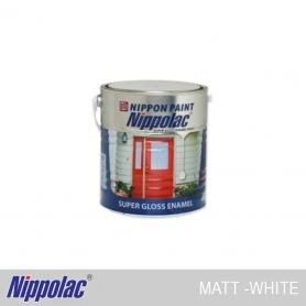 Nippolac Enamel Matt White