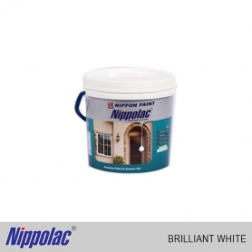 Nippolac Emulsion - Weatherproof Brilliant White