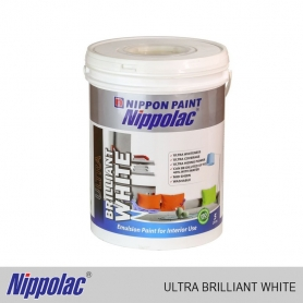 Nippolac Emulsion - Vinyl Ultra Brilliant White