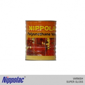 NIppolac Varnish - Polyurethane Super Gloss