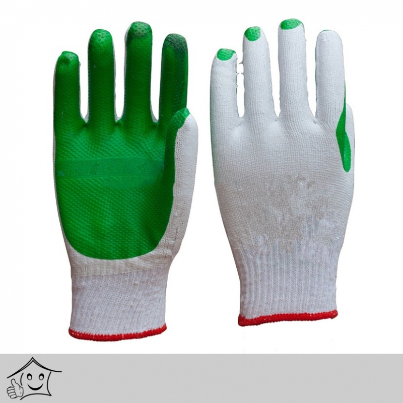 Rubber Coated Heavy Duty Green Gloves Bnshardware Lk Store