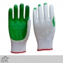 Rubber Coated Heavy Duty Green Gloves