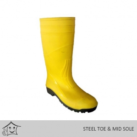 Imported Gum Boot (Steel Toe & Mid Sole)
