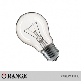 GLS Screw Type Clear Bulb
