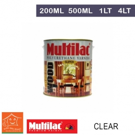 Multilac Polyurethane Varnish Clear