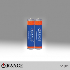Orange Battery 1.5V - AA 4P