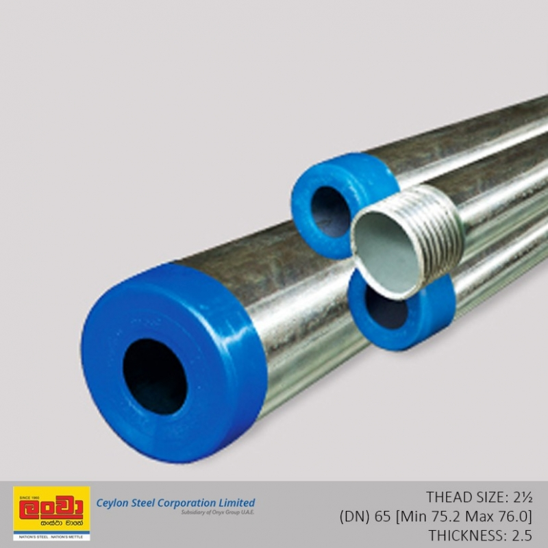 Gi Pipes Dn 65 Bnshardware Lk Gi Pipes Dn 65 Price